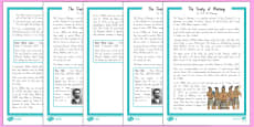 The Treaty of Waitangi Differentiated Comprehension Go Respond Activity Sheets