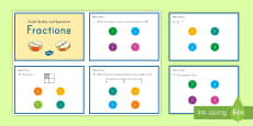 3rd Grade Numbers and Fractions Online Assessment Practice Activity