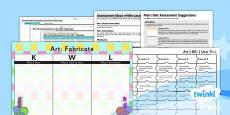 PlanIt - Art KS1 - Fabricate Unit Assessment Pack