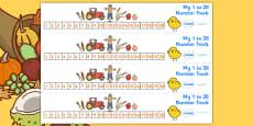 Harvest Number Track (1-20)