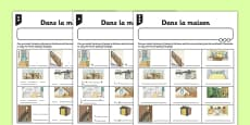 Activity Sheet Homes French