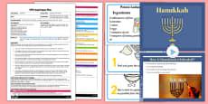 Making Potato Latkes EYFS Adult Input Plan and Resource Pack