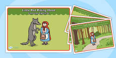 Little Red Riding Hood Story Polish Translation
