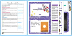 EYFS Space Discovery Sack Plan and Resource Pack