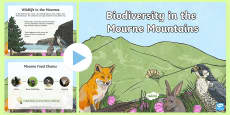 Biodiversity in the Mourne Mountains PowerPoint
