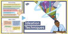 Ten Ideation Techniques for Creative Thinking PowerPoint