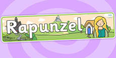 Rapunzel Display Banner (Outdoor)