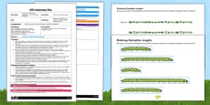 Ordering Caterpillar Lengths EYFS Adult Input Plan and Resource Pack