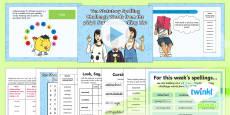 PlanIt Y6 Term 2A W6: Statutory Spelling Challenge Words Spelling Pack