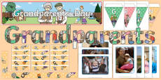 Grandparents' Day Display Pack