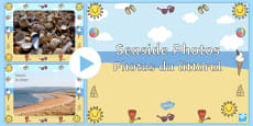 Seaside Display Photos PowerPoint English/French
