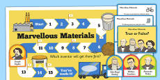Materials and Inventors Display Pack