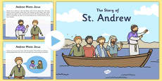 All About  St Andrew's Day PowerPoint