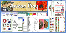 Australia - Anzac Day Resource Pack