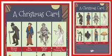 A Christmas Carol Word Grid