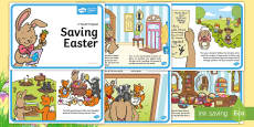 * NEW * Saving Easter Story