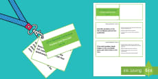 Lanyard Sized Year Six Position and Direction Objectives Cards