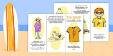 Sun Safety Leaflet Polish Translation