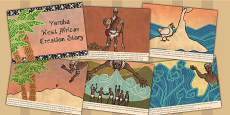 Kingdom of Benin: Yoruba Creation Story Cards