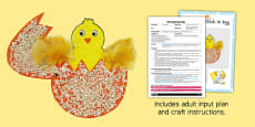 Split Pin Chick In Egg Adult Input Plan And Resource Pack