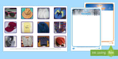 * NEW * Photo Summer and Winter Clothes Sorting Activity Arabic/English