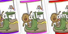 Foundation Stage 2 Keywords on Trick 3 to Support Teaching on The Enormous Crocodile