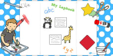 A3 Blank Lapbook Template