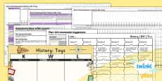 PlanIt - History KS1 - Toys Unit Assessment Pack