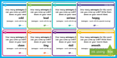 Antonyms Blether Stations