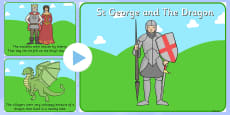 St George And The Dragon Story PowerPoint