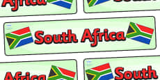 South Africa Display Banner