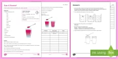 Dissolving Investigation Instruction Sheet Print-Out