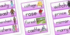 Australia - The Beauty and the Beast Word Cards
