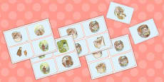The Tale of Mrs Tiggy Winkle Story Sequencing Cards (Beatrix Potter)