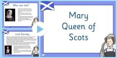 Mary Queen of Scots Information PowerPoint