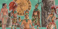 Mayan Civilisation Large Display Cut Out Pack