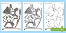 * NEW * Eiffel Tower Paper Craft