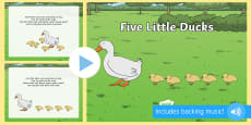 Five Little Ducks PowerPoint