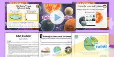 PlanIt - Science Year 5 - Earth and Space Lesson 1: Spherical Bodies Lesson Pack