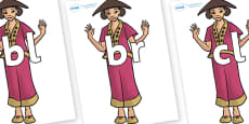 Initial Letter Blends on Lila