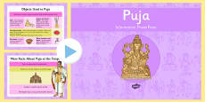 Puja Information PowerPoint
