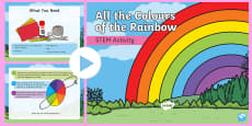 All the Colours of the Rainbow STEM PowerPoint