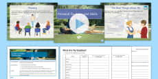 * NEW * My Skills and Qualities Lesson Pack
