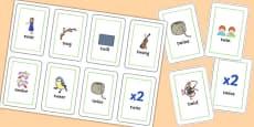 TW Flash Cards