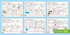 Year 2 Spring 2 Maths Activity Mats