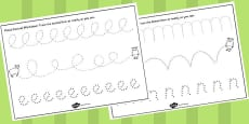 The Three Billy Goats Gruff Pencil Control Sheets