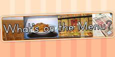 Australia - Whats on The Menu IPC Photo Display Banner