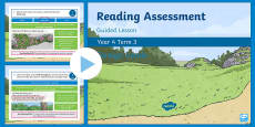 Year 4 Reading Assessment Poetry Term 3 Guided Lesson PowerPoint
