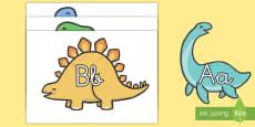 El abecedario: Dinosaurios