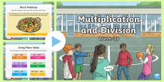 * NEW * Year 5 Multiplication and Division Warm-Up PowerPoint